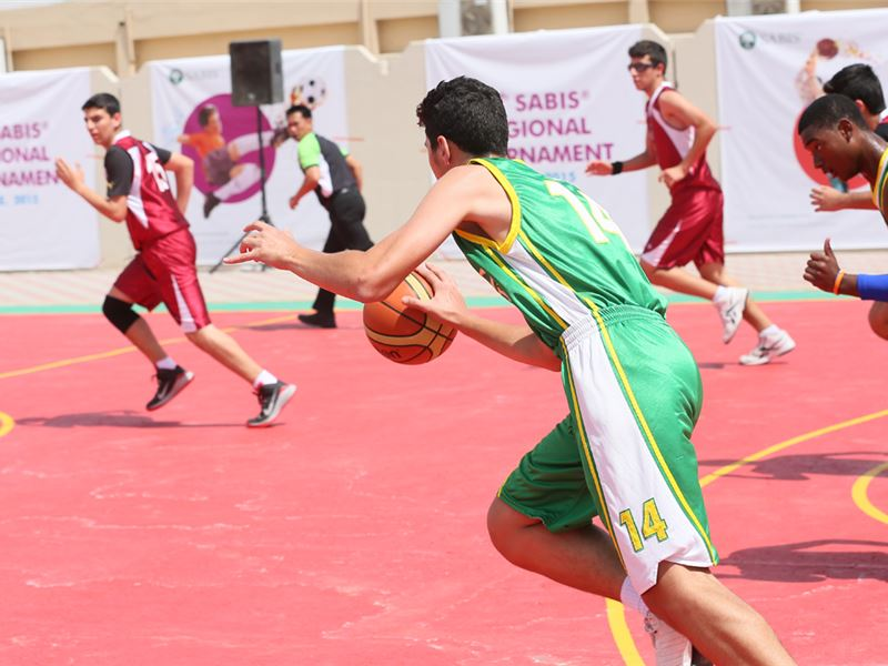 ISC SHARJAH 2015 - BASKETBALL