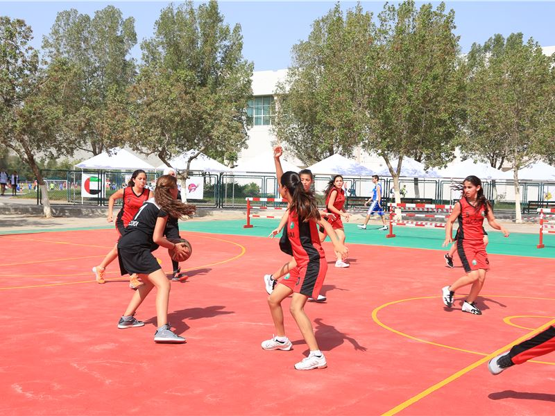 ISC SHARJAH 2015 BASKETBALL